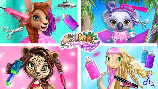 Animal Hair Salon Australia - Dress Up & Styling 8.0.10007 screenshots 1