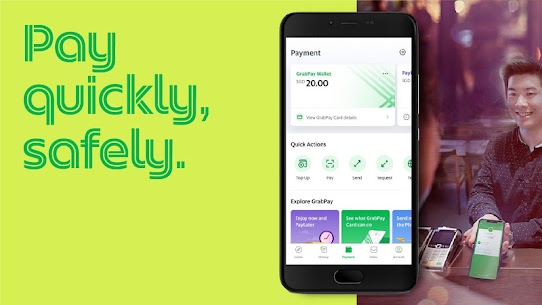 Grab – Transport, Food Delivery, Payments 5