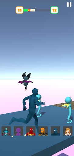 Super Hero Transform Race - Spider Racing Game 3D 0.6 screenshots 10