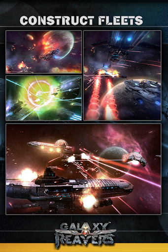 Galaxy Reavers - Starships RTS apkmr screenshots 5