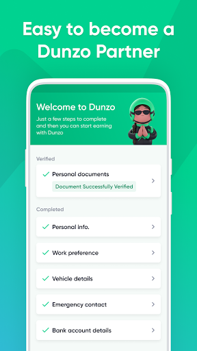 Dunzo Delivery Partner