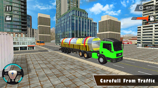 Indian Oil Tanker Cargo Truck Game apkpoly screenshots 9