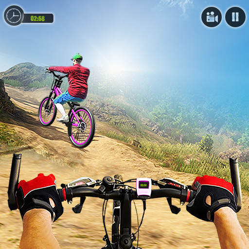 Offroad BMX Rider: Mountain Bike Game