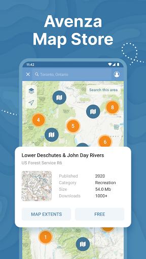 Avenza Maps: Offline Mapping  Screenshots 5