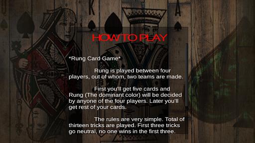 Rung Card Game : Court Piece screenshots 8