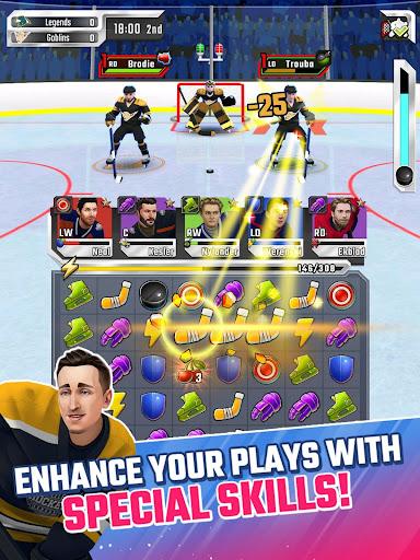 Puzzle Hockey - Official NHLPA Match 3 RPG 2.34.0 screenshots 11