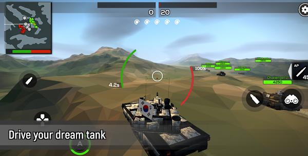 Poly Tank 2: Battle Sandbox Mod Apk (Free Shopping) 1