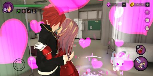 Anime High School Zombie Simulator apkpoly screenshots 9