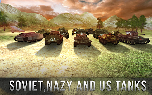 Tank Battle 3D: World War II (обновлено v 2.02) Мод (много денег) 2