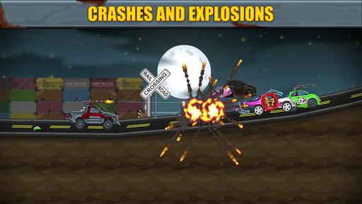Max Fury - Road Warrior: Car Smasher screenshots 4