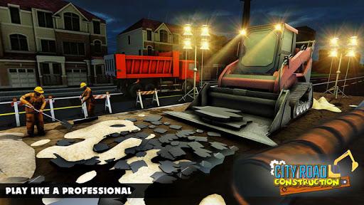 Mega City Road Construction Machine Operator Game 3.9 screenshots 5