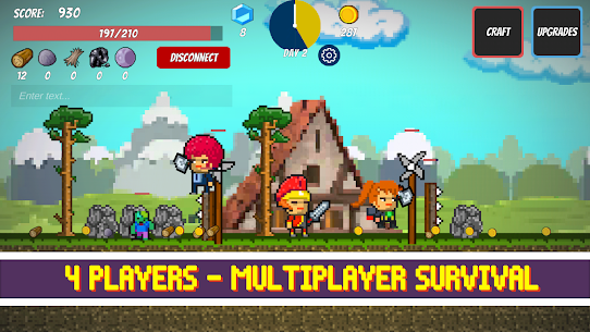 Pixel Survival Game Mod Apk 2.24 (A Lot of Gold Coins, Diamonds) 1