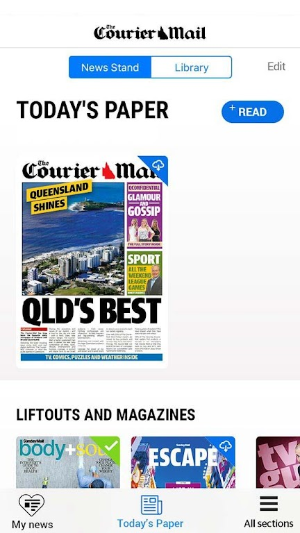 The Courier-Mail  poster 2