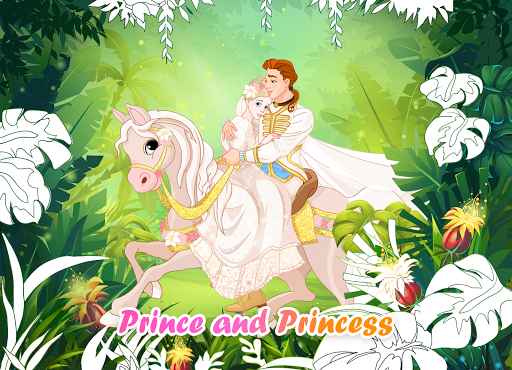 Princess Coloring Book: Special Color by Number modiapk screenshots 1