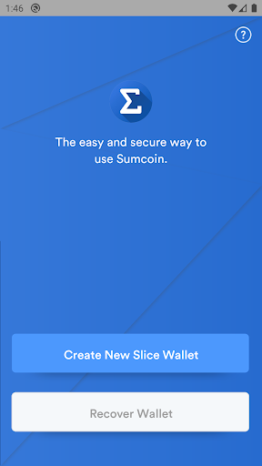 Slice Wallet 1.1.5 Screenshots 1