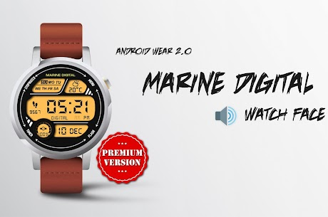 Marine Digital Watch Face & Clock Live Wallpaper 2.59 Download APK Mod 2
