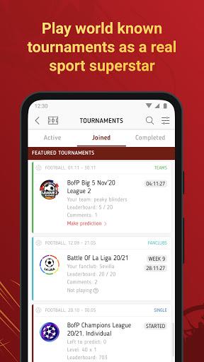 Battle of Predictions - Sports apk 1.6.0 screenshots 1