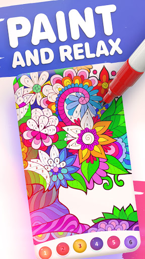 Magic Color by Number: Free Coloring game 1.6.6 screenshots 1