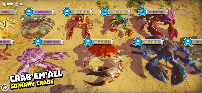 King of Crabs MOD APK 1.13.0 (Unlocked Crabs) 10