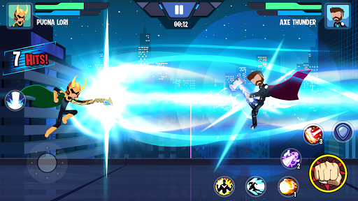 Stickman Superhero - Super Stick Heroes Fight  screenshots 10