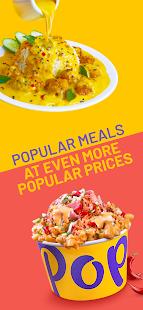 Pop Meals - food delivery screenshots 1