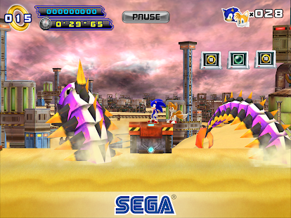 Sonic The Hedgehog 4 Episode II Screenshot