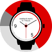 9to5 Working Hours Watch Face