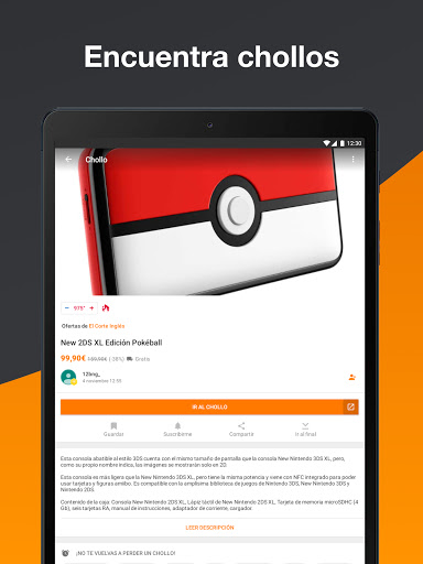 Chollometro u2013 Chollos, ofertas apktram screenshots 17