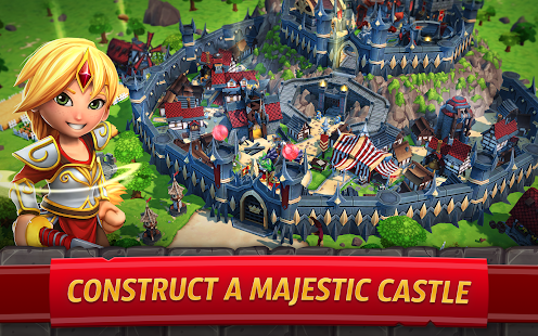Royal Revolt 2: Tower Defense RTS & Castle Builder Screenshot
