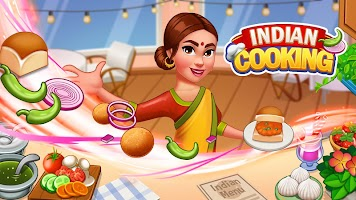 Indian Cooking Games - Star Chef Restaurant Food
