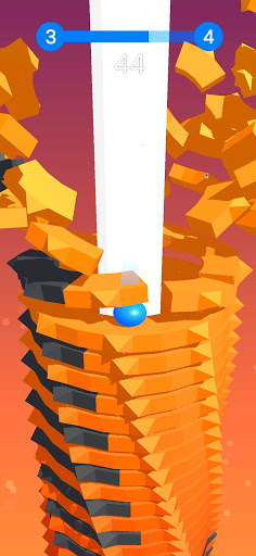 Stack Ball - Blast through platforms apkslow screenshots 7