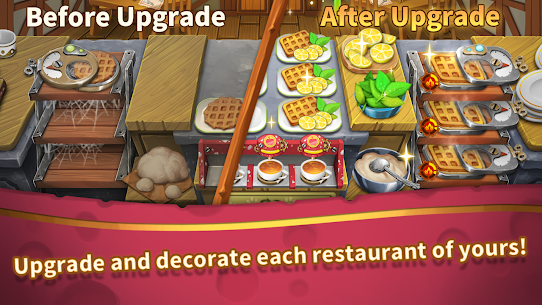 Cooking Town: Chef Restaurant Cooking Game Mod Apk 1.2.0 (Unlimited Diamonds) 4