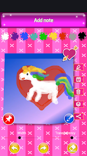 Unicorn Notepad (with password)