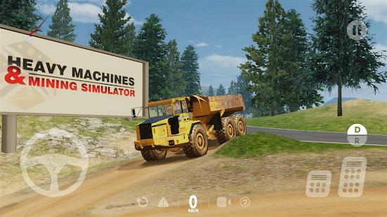 Heavy Machines & Mining Simulator apk