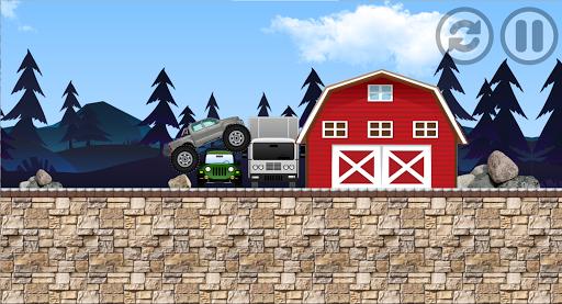 monster truck : adventure race screenshot 1