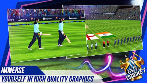 Epic Cricket - Big League Game  APK MOD (Astuce) screenshots 5