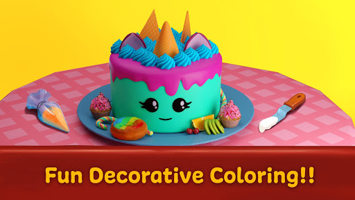 ud83cudf82 Cake maker - Unicorn Cooking Games for Girls ud83cudf08  screenshots 3