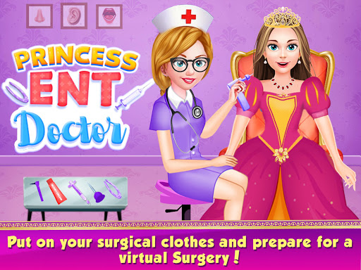Princess ENT Doctor Hospital screenshot 1