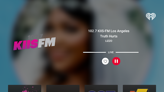 iHeartRadio for Android TV 4