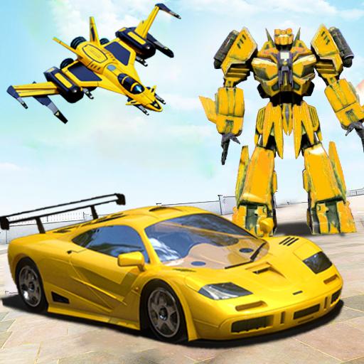 Robot Car Transformation 3D