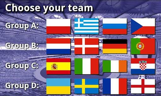 EURO 2012 Football/Soccer Game  screenshots 1