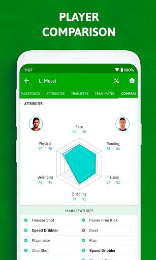 BeSoccer - Soccer Live Score 5.2.2.1 Screenshots 4