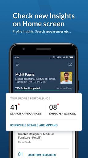 Naukri.com Job Search App: Search jobs on the go! 15.4 Screenshots 4