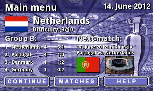 EURO 2012 Football/Soccer Game  screenshots 2