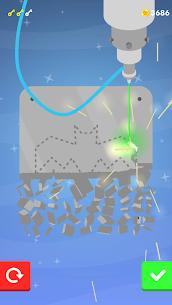 Laser Cutting APK MOD HACK (Monedas Infinitas) 3