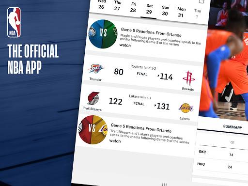 NBA: Live Games & Scores screenshots 7