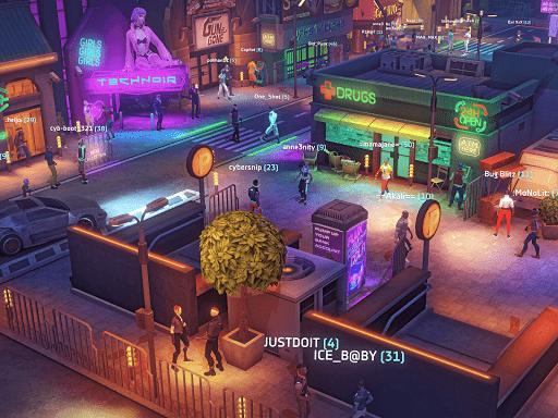 Cyberika: Action Adventure Cyberpunk RPG modavailable screenshots 11