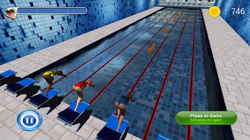 Swimming Race 3D screenshots 17