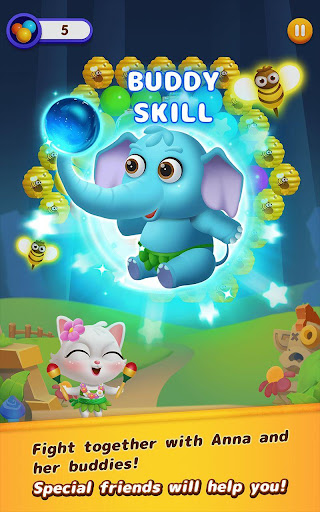 Bubble Shooter: Cat Island Mania 2020 apktram screenshots 3