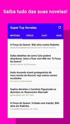 Super Top Novelas - Resumos, capu00edtulos, famosos screenshots 1